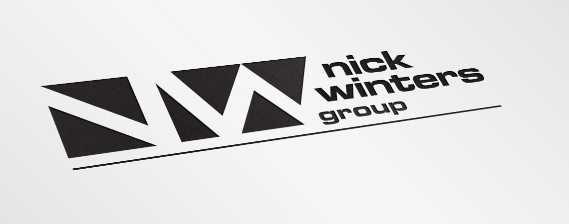 image of The Nick Winters Group logo black