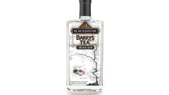 Blackwater Barry's Tea Gin Bottle
