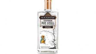 Blackwater Copperpot Gin Bottle