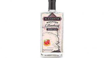 Blackwater Strawberry Gin bottle