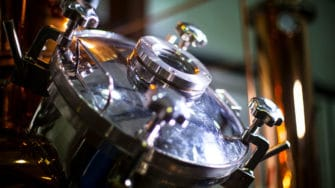 image of Blackwater distillation equipment