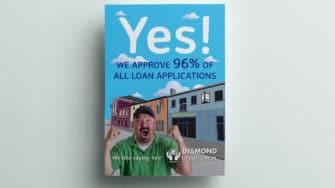 image of Desmond's Credit Union information booklet