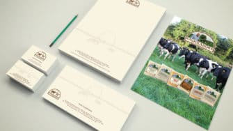 image of Knockanore Cheese stationery