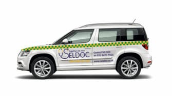 image of SELDOC branded car