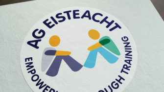image of ag eisteact branded sticker