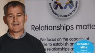 image of Ag Eisteacht trainer Brendan Mills