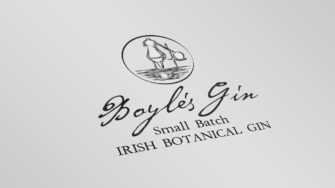 image of Boyle's Gin product label