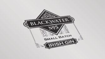 image of Blackwater No.5 Small Batch Irish Gin product label