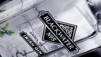 image of Blackwater No. 5 Small Batch product label