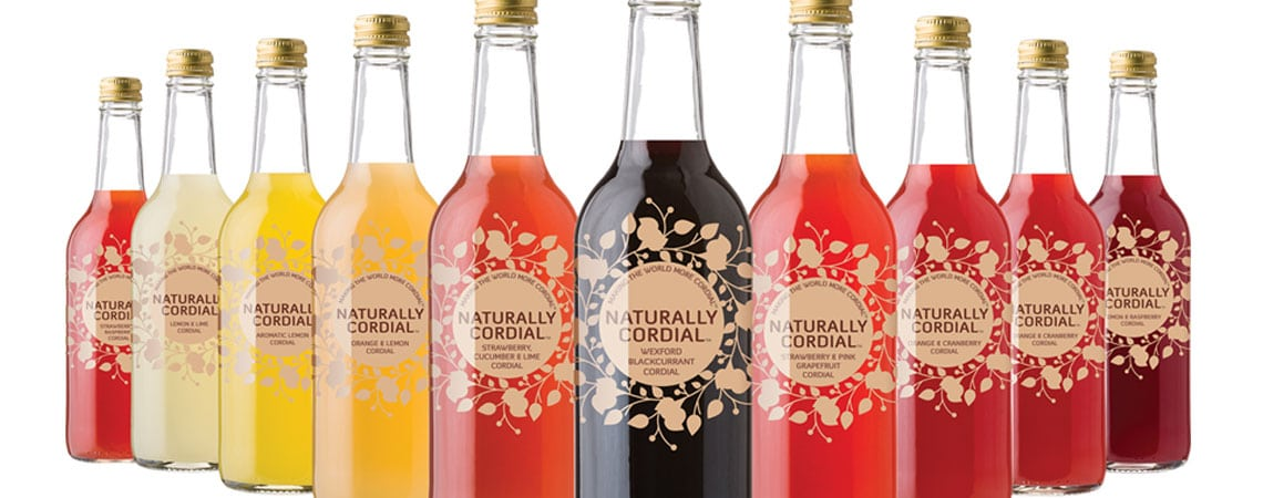 image of Naturally Cordial bottles