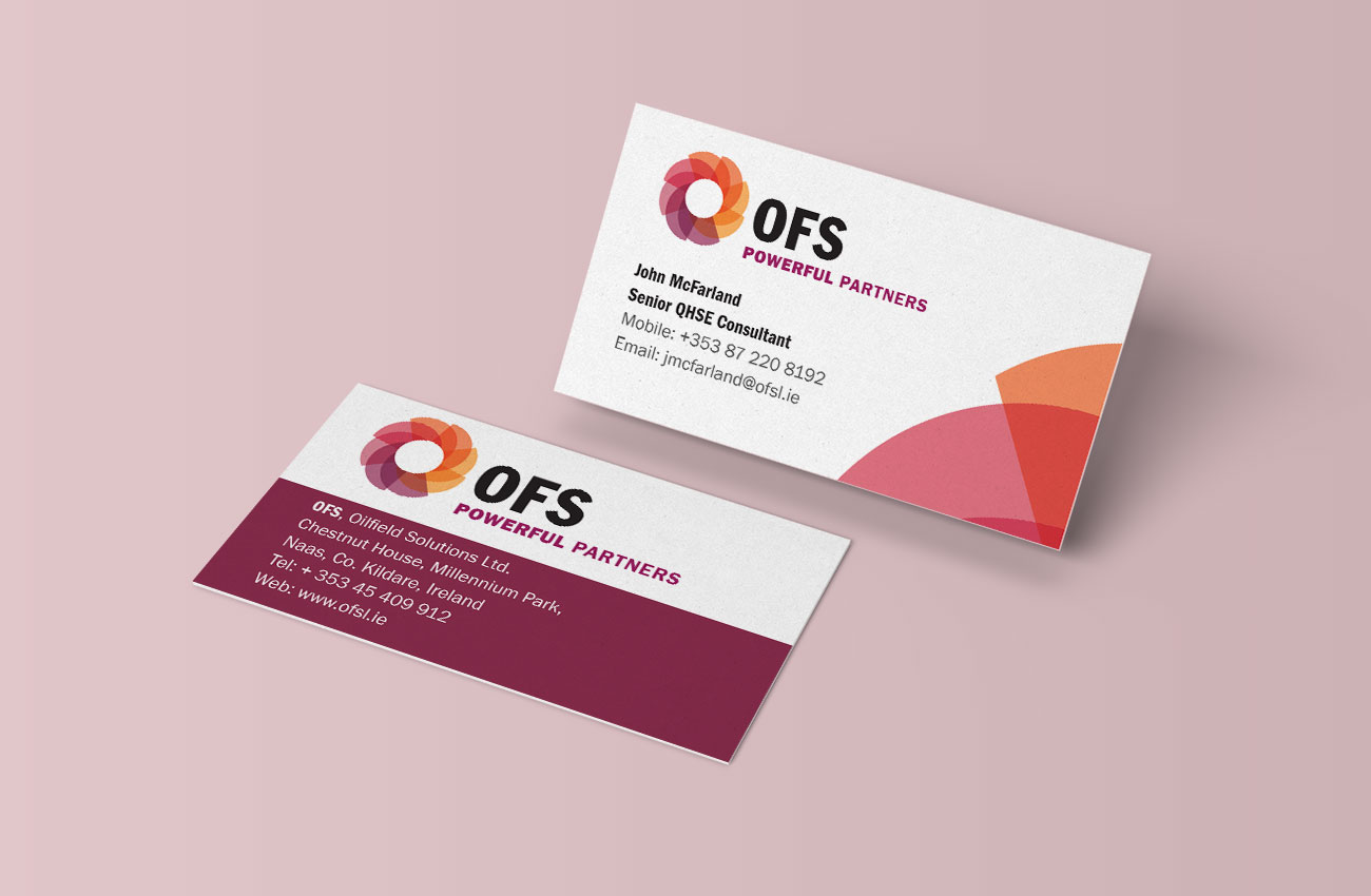 Oilfield Solutions - Branding Project - Passion for Creative