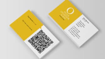 image of Peter O'Connor & Son business cards