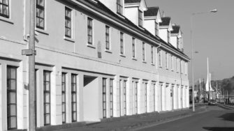 image of Peter O'Connor & Son houses black & white