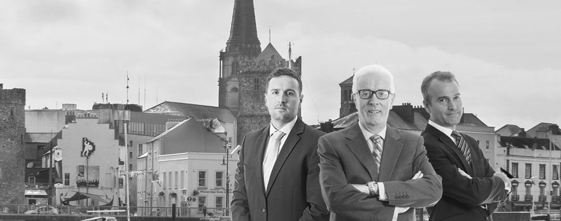 image of Peter O'Connor & Son in Waterford black & white