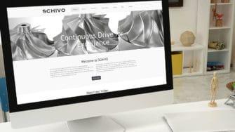 image of Schivo Group website on desktop