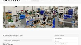 image of Schivo Group website 1