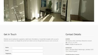 image of Schivo Group website 3