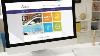 image of SELDOC website on desktop