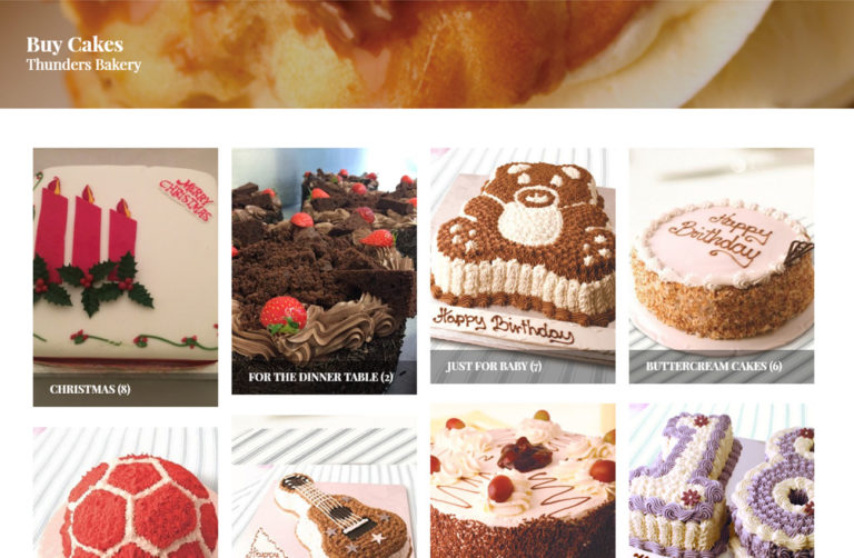 Thunders Bakery Digital Project Passion For Creative