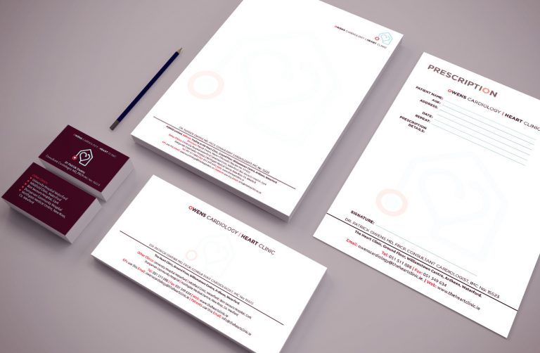 The Heart Clinic - Branding Project - Passion for Creative