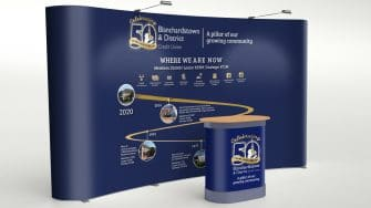 Blanchardstown Credit Union Banner Stand