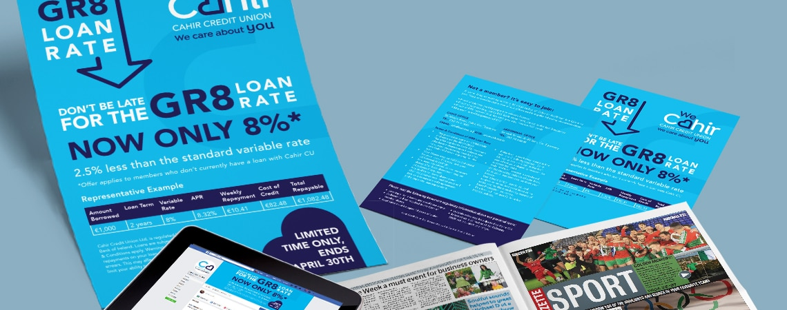 Cahir Credit Union Branding