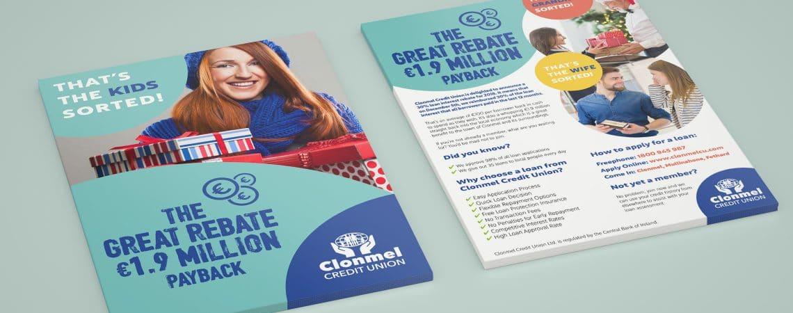 Clonmel Credit Union Press Ads